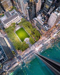 Photo by Bryant Park New York Street, New York City, Nyc Bucket List, New York Pictures, Manhattan Nyc, Bryant Park, Dream City, Urban Landscape, Best Hotels