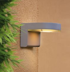 Looking for an outdoor fixture that looks cool and saves you money while it's on? Then check out the Jalon wall light by EGLO. It's an LED fixture and comes in silver and black finishes.