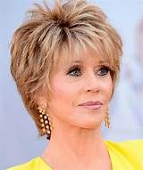 short hairstyles over 50 - Jane