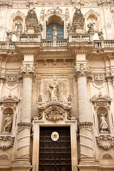 Baroque Church Brindisi, Puglia Italy
