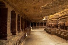 Kailasa - Magnificent Indian Temple Carved from One Giant Rock