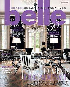 Belle Magazine April/May Online designer rugs, prestigious designer floor rugs and runners. Chair Design, Furniture Design, Design Design, Modern Furniture, Andree Putman, Belle Magazine, April May, Nate Berkus, Vintage Market