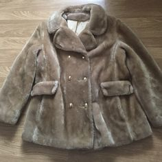 Vintage Faux Fur Coat free $10 item your choice Mint condition from the 50s Jackets & Coats