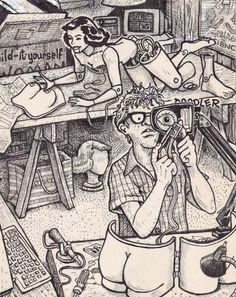David jablow taking do it yourself doodler pads for doodling naked david jablow taking do it yourself doodler pads for doodling naked women and making them awesome things that are amazing andor crazy pinterest solutioingenieria Gallery