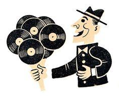 vinyl artwork. #art #artwork #records #vinyl #music #illustration #musicart http://www.pinterest.com/TheHitman14/for-the-record/