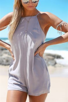 Grey Gypsy Playsuit | SABO SKIRT