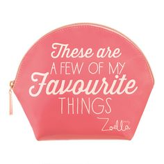 Zoella Beauty Favourite Things Beauty Bag