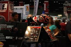 Guests view the Legend Series at the 2012 PRI.