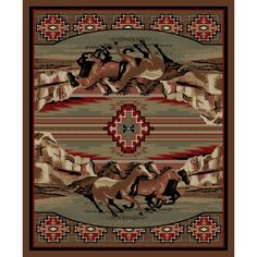 Found it at Wayfair - American Destinations Brown Area Rug