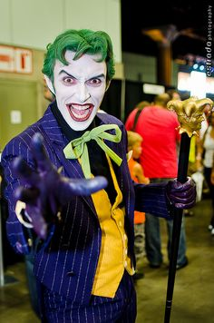 I doubt we'll see a better Joker cosplayer in the next decade, Anthony Misiano | Comikaze 2012