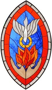 Stained Glass: Pentecost