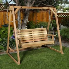 All Things Cedar Swing with A-Frame Set | Lowe's Canada