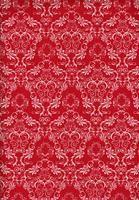 Tecido azulejo vermelho