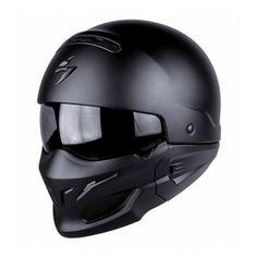 49c750e939 Scorpion Exo Combat - Matt Black from the UK s leading online bike store.