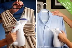 Passadeira a vapor portátil para todo tipo de tecido, por apenas R$69.90