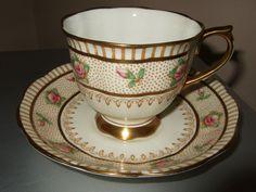 Royal Albert Crown China Cup and Saucer Vintage