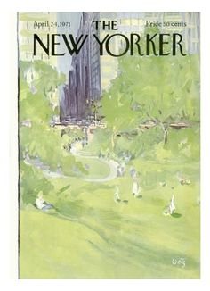 The New Yorker Cover - April 24, 1971 Regular Giclee Print by Arthur Getz at Art.com