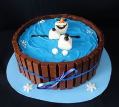 Olaf in a Kit-Kat Cake | 3rdRevolution