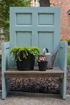Recycled door. What do you think of this?