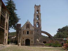 Ex Hacienda Santa Maria de la Regla.HIDALGO