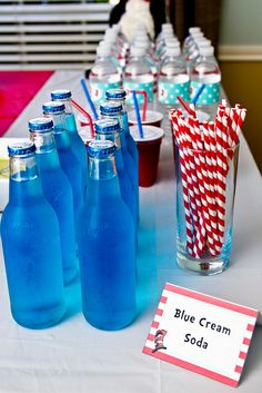 Dr. Seuss's The Cat in the Hat Birthday Party ~ this site has lots of cute ideas.