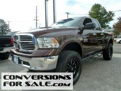 Used 2014 RAM 1500 SLT Quad Cab Big Horn Lifted Truck