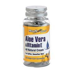 Mason Naturals Aloe Vera & Vitamin E, Snipe-off capsules - 60 Caps