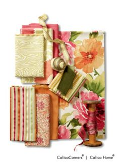 Trendy Tangerine Fabric Collection