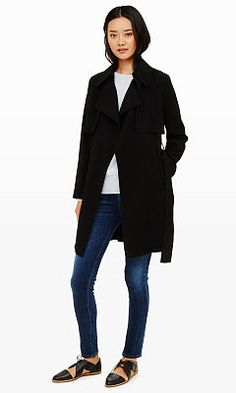 Woman | Kapana Trench Coat | Club Monaco