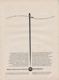 Motorola Ad Ad Agency: Charles Bowes Advertising, Inc.