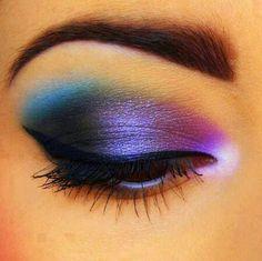 Rainbow eyeshadow ideas
