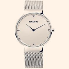 One of our newer additions. A simple watch for men. Ultra thin, durable, and stylish. From our bright whites collection. Tags: Simple watch for men Minimalist watch Simple Watches, Watches For Men, White Backdrop, White Man, Daniel Wellington, Minimalist, Bright, Tags
