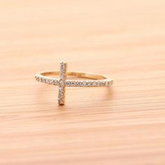 Cross ring!