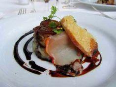Le Cantou Toulouse, foie gras poêlé et filet de porc noir
