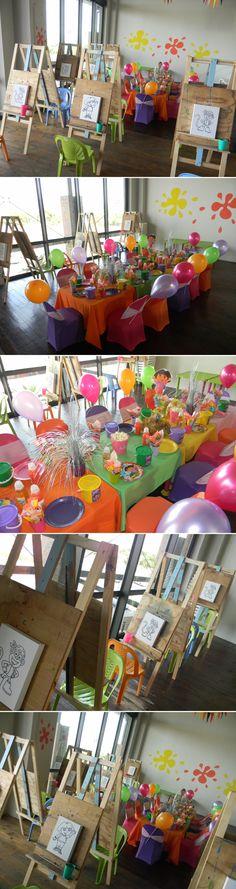 Dora Paint Party By: Supakids West Coast, Cape Town
