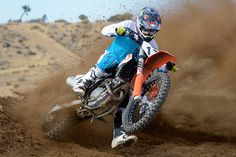 When ridden near the top of its rev ceiling, the 2017 KTM 250 SX-F is a devastatingly powerful motocross weapon that will please experts and professionals. Ktm 250, Ride Or Die, Dirtbikes, Motocross, Weapon, Motorcycles, Ceiling, Top, Handgun