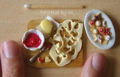Miniature Christmas Cookies Prep' Board by PetitPlat - Stephanie Kilgast, via Flickr