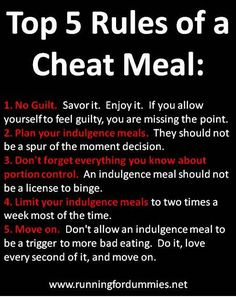 Committed to Get Fit: How to Use Cheat Meals Appropriately to Reach Your Fitness Goals