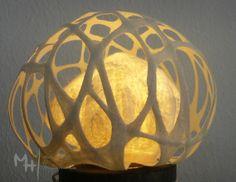 #lamp #wool #handmade #hechoencanarias #silk #lana #filz#fel t#laberinto#filz #artesaniacanaria #feutre #fieltroartesanal #crafts #madintheCanaryIslands