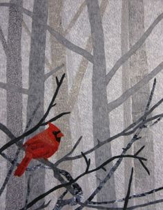 red bird quilt | DIY Quilts