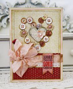 Adore Handmade Card. $8.00, via Etsy.