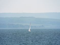 from Haying Island sailing IOW back drop 5/5/16