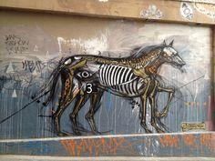Horse, or dog? Hosier Lane Melbourne