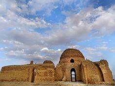 Sassanian (Palace at Sarvistan) - Remains of the Palace at Sarvistan, 420-438 AD, by Bahram V, Iran.