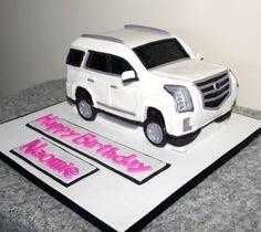Download Mercedes Benz White Suv Happy Birthday Wallpaper  Background