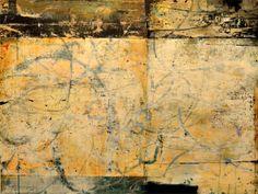 "Bill Gingles, Sun Voice, 2013, Acrylic on canvas, 30"" x 40"" billgingles.net"