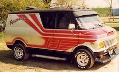 Lost in time Dodge Van, Chevy Van, Customised Vans, Custom Vans, Bedford Van, Gmc Vans, Old School Vans, Van Car, Cool Vans
