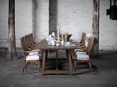 Melody chairs & Lucas table. #sikadesign #rattan #handmadefurniture #furniture #design #danishdesign #inspiration #decor #chair #danish #indoor #tables