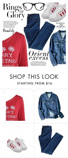 """""""Casual"""" by vanjazivadinovic ❤ liked on Polyvore featuring J Brand, Tiffany & Co., Nicole, dresslily and polyvoreeditorial"""