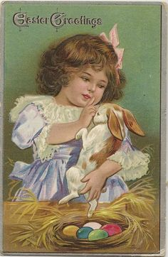 From my personal vintage post card collection.